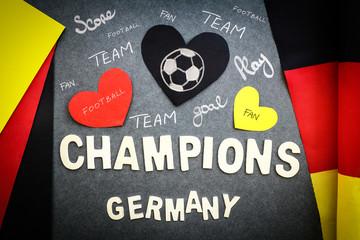 Fan's wall for German football team