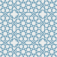 Traditional Islam Geometric pattern, seamless