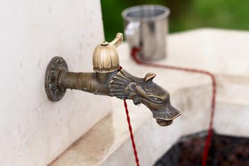 Ancient faucet