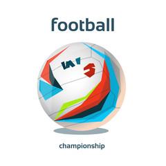 Football Championship Colorful Banner