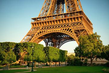 Photo sur Toile Paris Eiffel Tower Paris