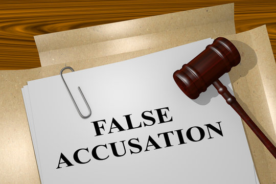 False Accusation legal concept