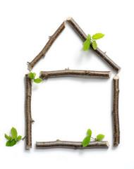 Holzhaus Ökologisches Bauen mit Holz Konzept