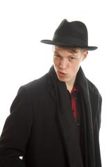 Man in a coat