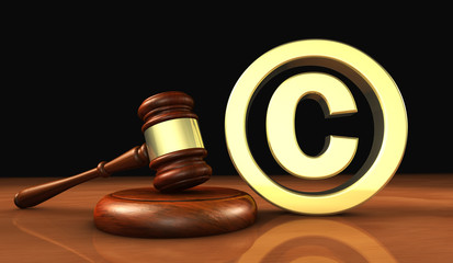 Copyright Icon Law Symbol