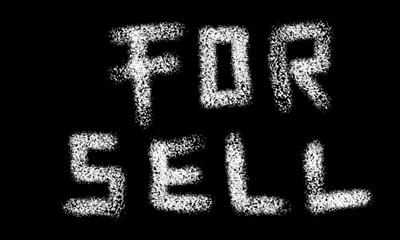word written using chalk to a blackboard background