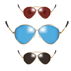 Classic men police sunglasses