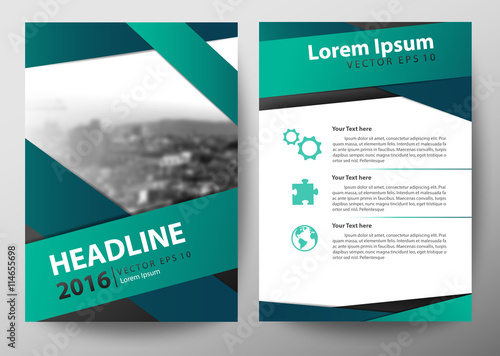 Brochure Cover Designbrochure Template Layout Flyer Design