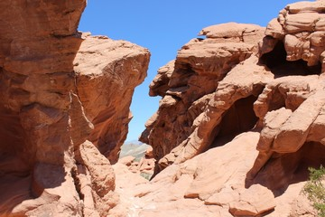 Valley of Fire Desert Landscape Photo
