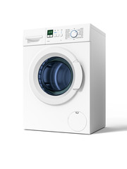 typical isolated washing machine