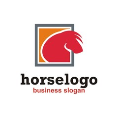 Animals Horse logo vector