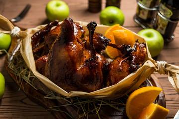 the roast duck