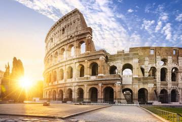 Rome city by sunrise Fototapete