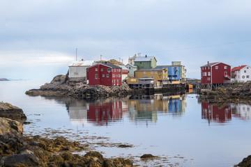 Nyksund in Norwegen