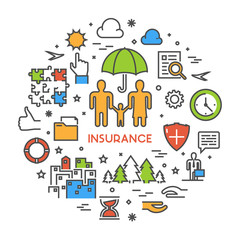 the concept of life insurance and Life insurance services for agents marketing concepts as life insurance has evolved to become more than just a death-benefit product, the demographic that needs life insurance has increased ten-fold.