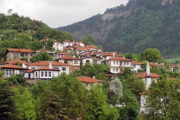 Goynuk Ottoman Homes in Bolu, Turkey