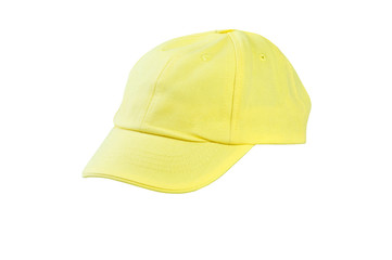 headdress baseball cap isolated on white background