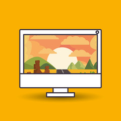 landscape wallpaper for computer design