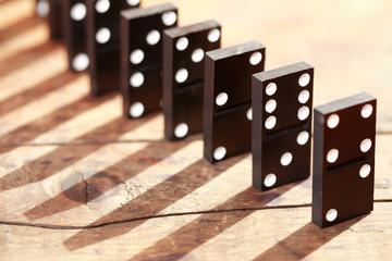 Domino Principle Concept