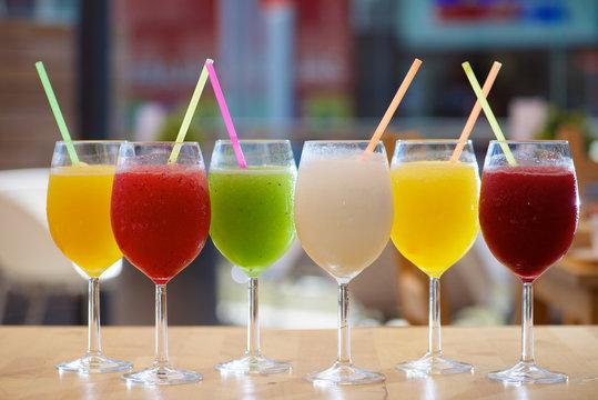 Slush drink view