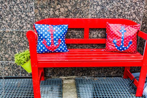 kissen aus wachstuch stockfotos und lizenzfreie bilder auf bild 114696041. Black Bedroom Furniture Sets. Home Design Ideas