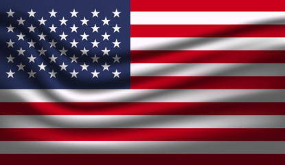 United States flag American symbol  Independence day background.