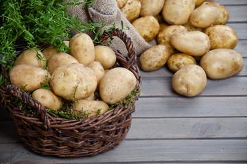 Ziemniaki w koszu