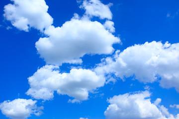 Clouds in summer sky