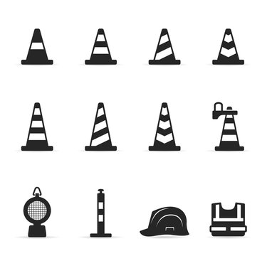 Single Color Icons - Traffic Sign