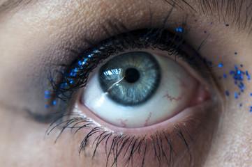 Occhio close up