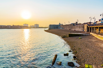 Seafront of portsmouth