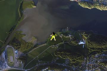 Wall Murals Dragons Skydiving in Norway
