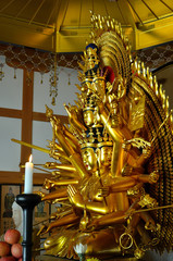 Golden Buddha, Japan.