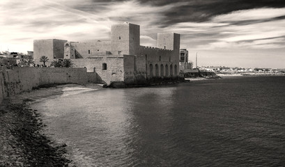 Trani Castle on the sea