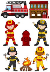 Fire fighters and other equipments