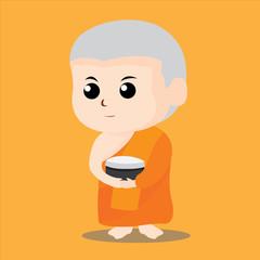 Thai Monk Character