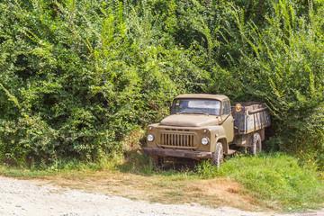 Советский грузовой автомобиль ГАЗ-53