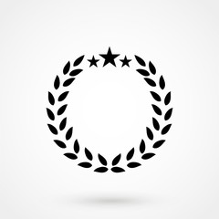 Laurel victory wreath