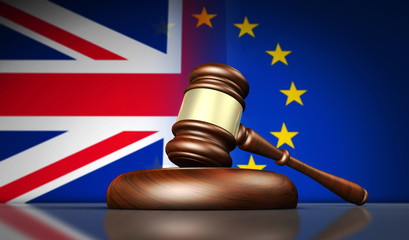 Brexit New European Union Laws And Regulations Concept