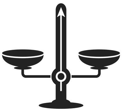 Balance mécanique poids picto 1