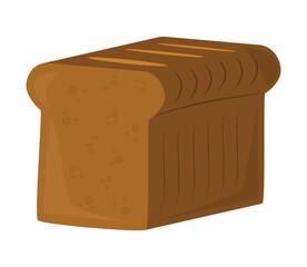 toast bread vector symbol icon design. illustration isolated on white background