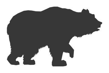 bear silhouette icon