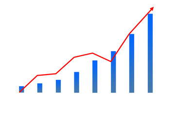 Image of financial diagram icon