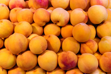 Apricots for sale at market