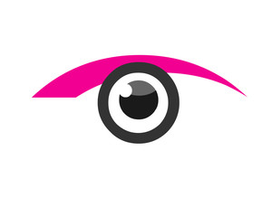 Eye Vision Logo Design Icon Vector