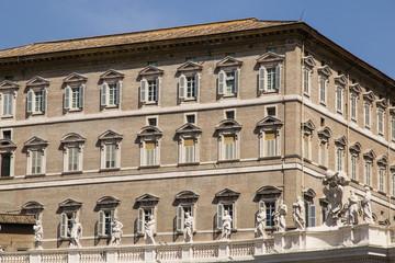 Palazzo apostolico, residenza del Papa, Città del Vaticano, Roma