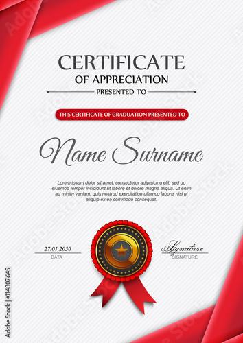 quotqualification certificate blank template quot imagens e