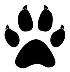paw logo silhouette