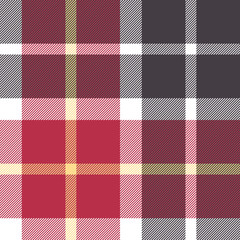 Red and gray flanel check seamless pattern
