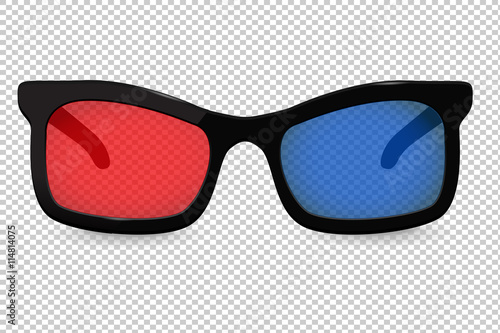 """3d glasses for cinema isolated on transparent background ..."
